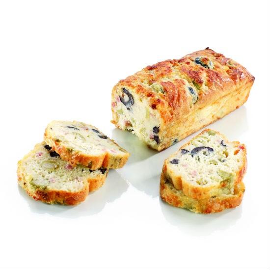 Cake lardon olive 245gr