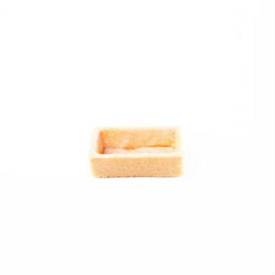 Fond de Tartelette Vanille Rectangle 5x2.5cm