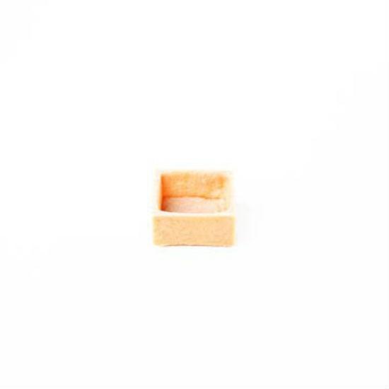Fond de Tartelette Vanille carré 3.8cm