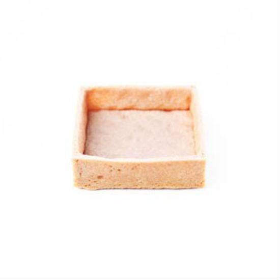 Fond de Tartelette Vanille carré 7.6cm