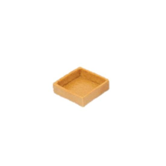 Fond de Tartelette Salée carré 3.8cm