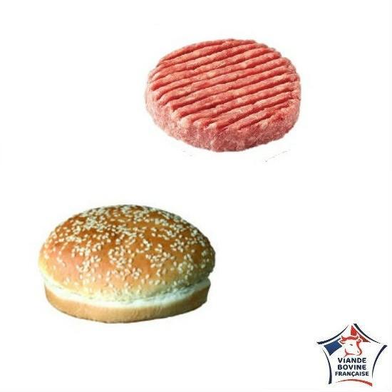 Kit Mini Burger 38gr