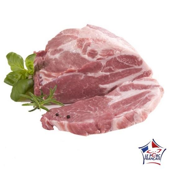 Echine de porc sans os