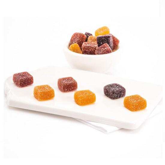 Pâtes de fruits pavés classique