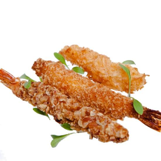 Assortiment de Crevettes Panées 15gr