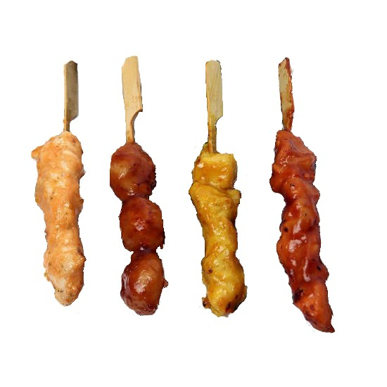 Assortiment de Brochettes de Poulet 20/25gr