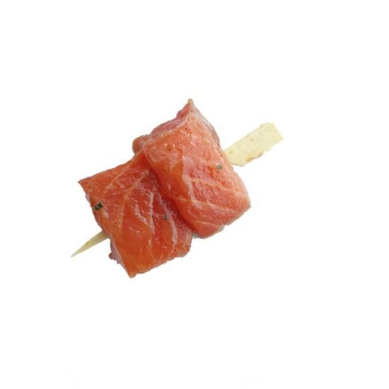 Mini Brochette de Saumon Marinée 30gr