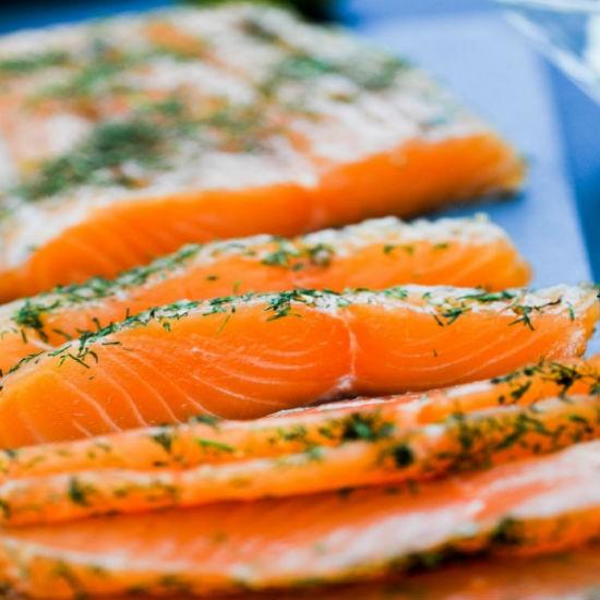 Gravlax de Saumon à l'Aneth +/-1.2kg