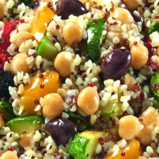 Salade de Boulghour et Quinoa