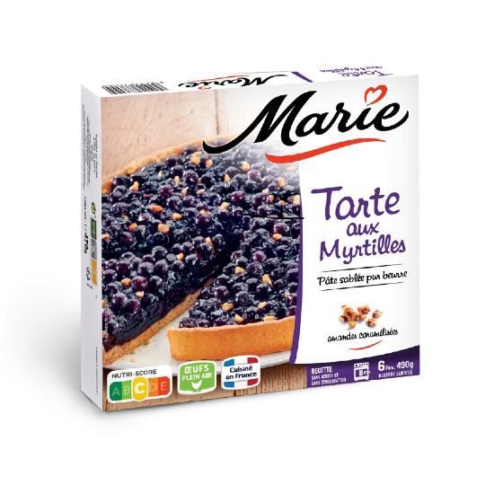 Tarte aux Myrtilles 490gr