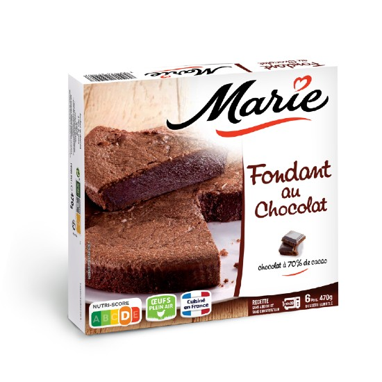 Fondant au Chocolat 470gr