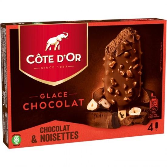Côte d'Or Chocolat Enrobage Chocolat et Noisette