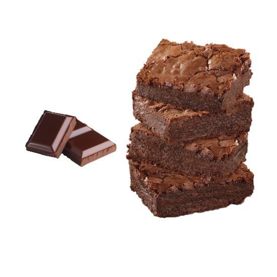 Bac 2.5L - Crème Glacée Chocolat Brownies