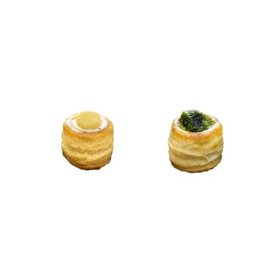 Panaché de Mini Feuilletés Escargots et St-Jacques